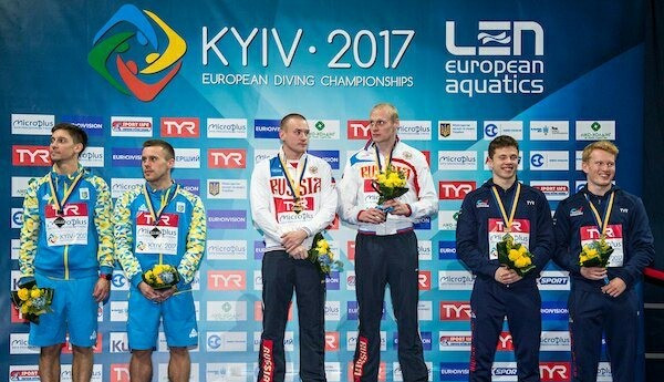 Russian duo triumph at European Diving Championships