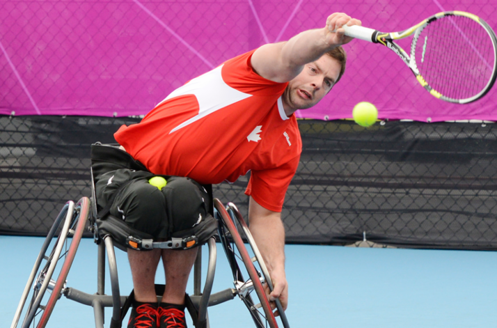 Philippe Bédard will lead the Canadian tennis team at the Toronto 2015 Parapan American Games ©CPC