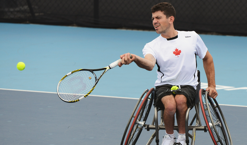 London 2012 Paralympian Joel Dembe will be hoping for more success at Toronto 2015 ©CPC