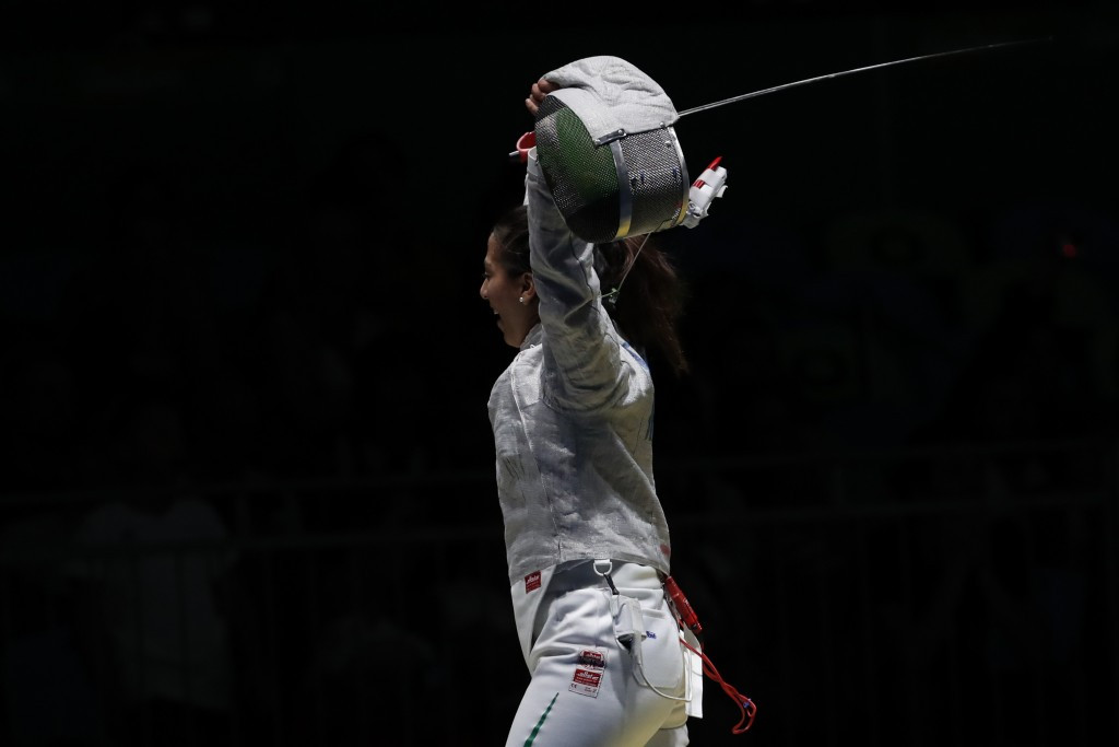 Mexico won the women's sabre title ©Getty Images