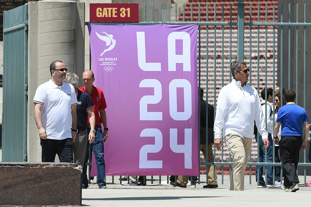 A filing detailing Los Angeles 2024's finances for the year to July 31, 2016 puts overall contributions at just over $32.6 million ©Getty Images