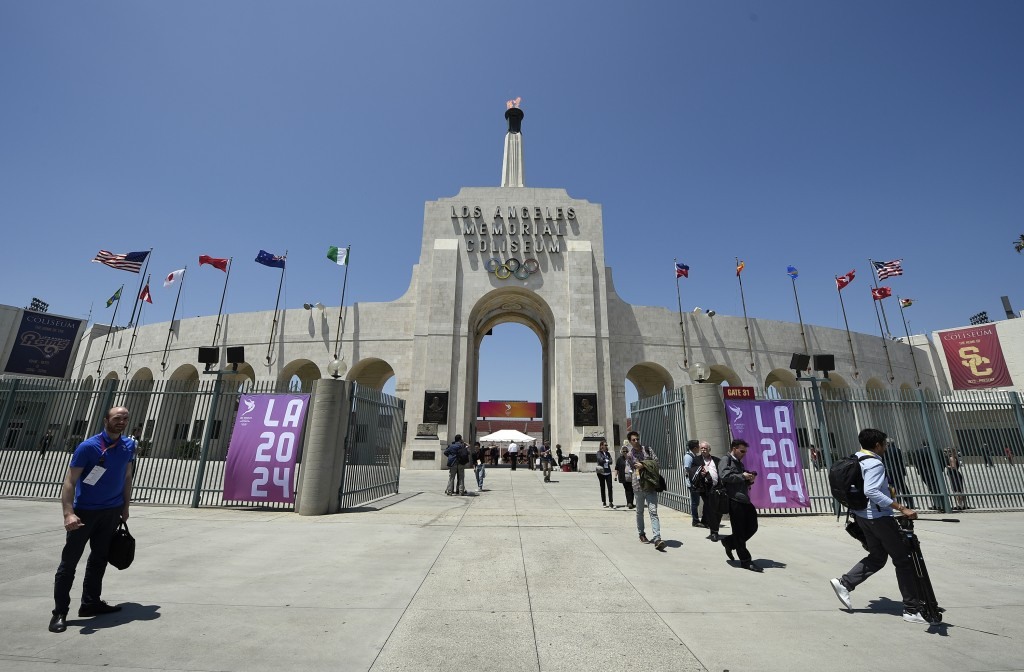 Los Angeles is seeking to host the Olympic Games for a third time ©Getty Images