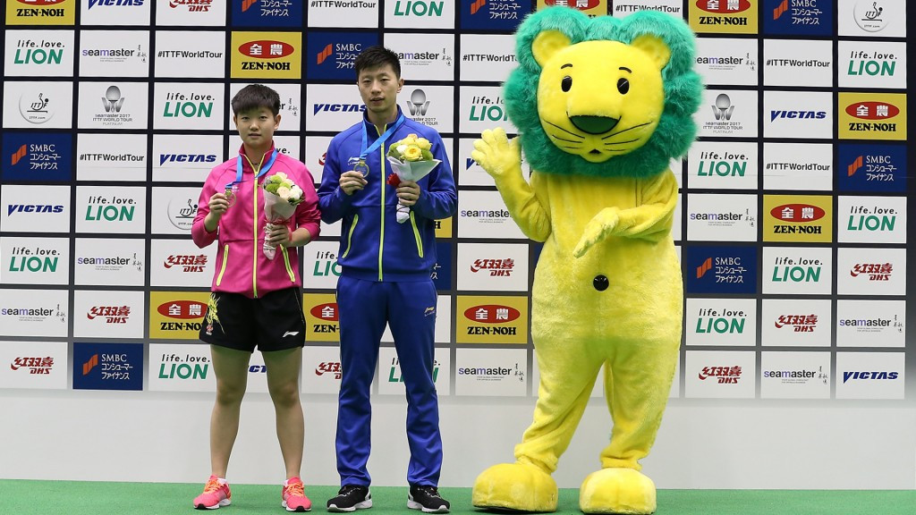 Sun shines with thrilling victory to clinch women's singles title at ITTF Japan Open