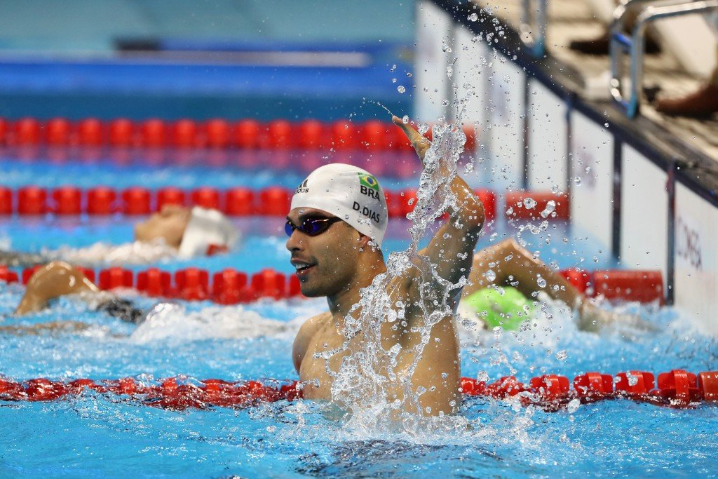 Brazil's Daniel Dias is already busy plotting to add to his 14 Paralympic gold medals at Tokyo 2020 ©Getty Images