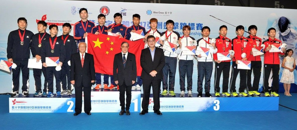 China secure two team golds at Asian Fencing Championships