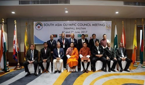 Bhutan hosts South Asian Olympic Council meeting