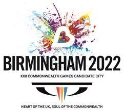 Birmingham unveil logo and vision for 2022 Commonwealth Games bid