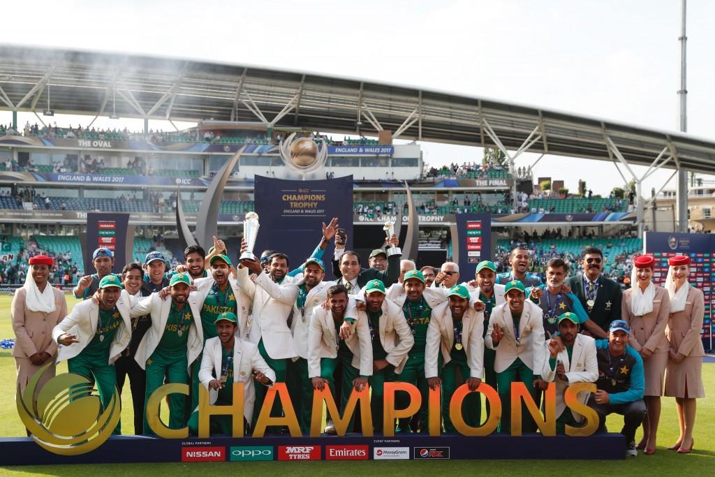 Pakistan thrash India to win ICC Champions Trophy