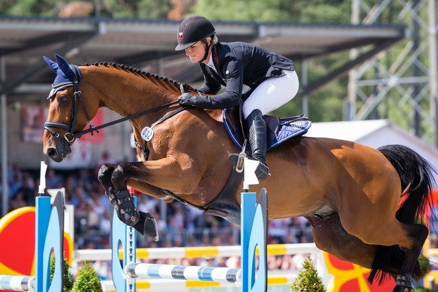 Krajewski triumphs at Luhmuhlen Horse Trials