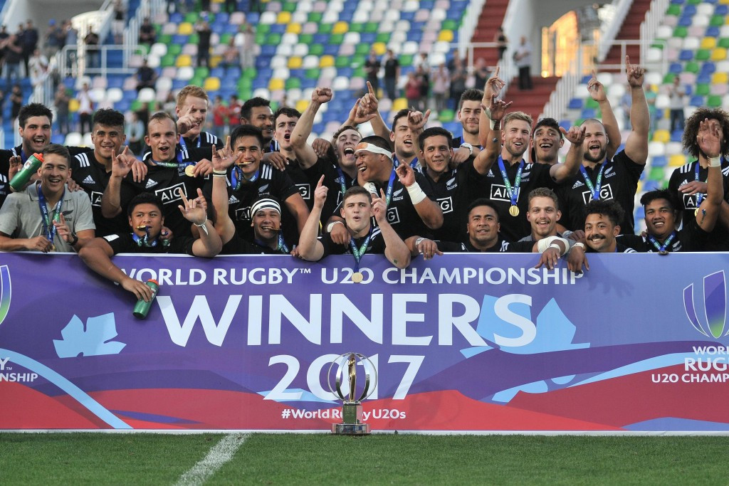 New Zealand hammer England to seal World Rugby Under-20 Championship title