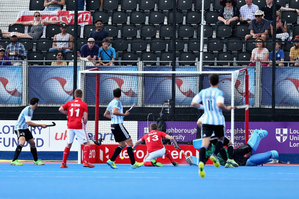 Argentina fight back to claim draw with England at Hockey World League semi-final