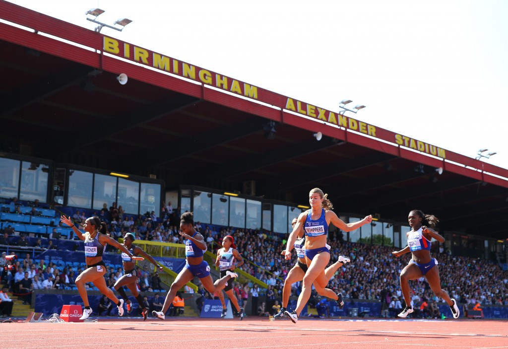 Upgrading Alexander Stadium is a key part of Birmingham's campaign to host the 2022 Commonwealth Games ©Getty Images