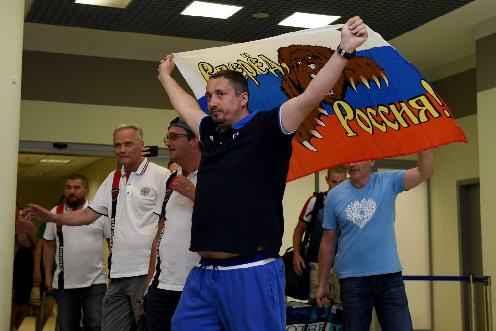Confederations Cup organisers ban Russian fan leader from attending matches