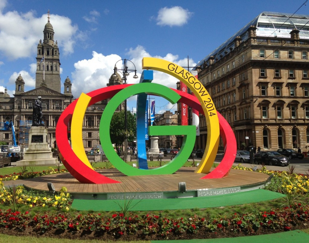 Hosting the Commonwealth Games in 2014 helped regenerate Glasgow, it is claimed ©Getty Images