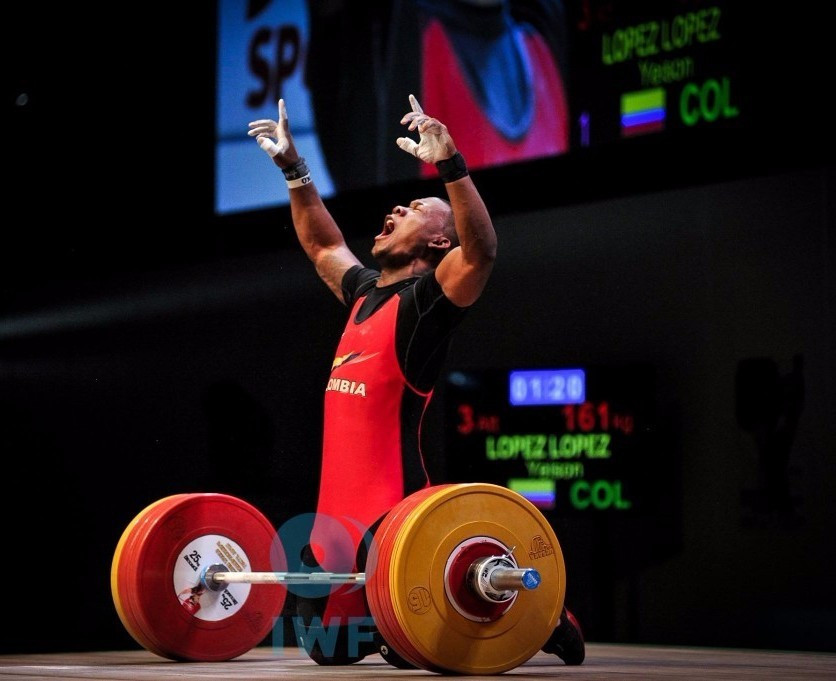 Lopez Lopez wins hat-trick of golds at IWF Junior World Championships