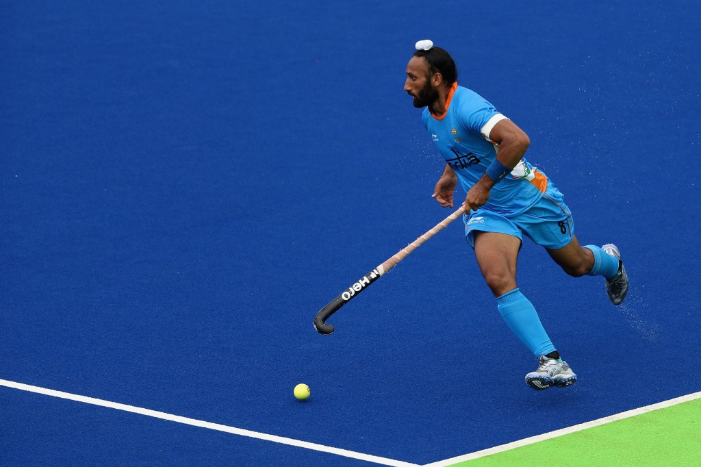 Narinder Batra criticised a decision by English police to question Sardar Singh in connection with an alleged sexual offence case after India had beaten Pakistan 7-1 in the Hockey World League semi-final in London ©Getty Images