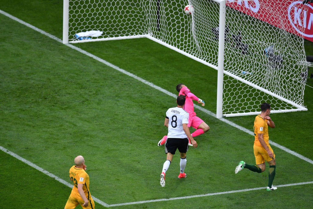 Germany edge Australia at Confederations Cup