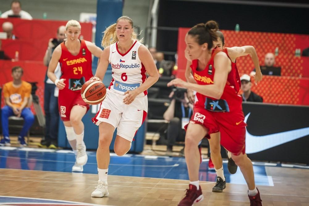 Czech Republic stun Olympic silver medallists but still exit EuroBasket Women