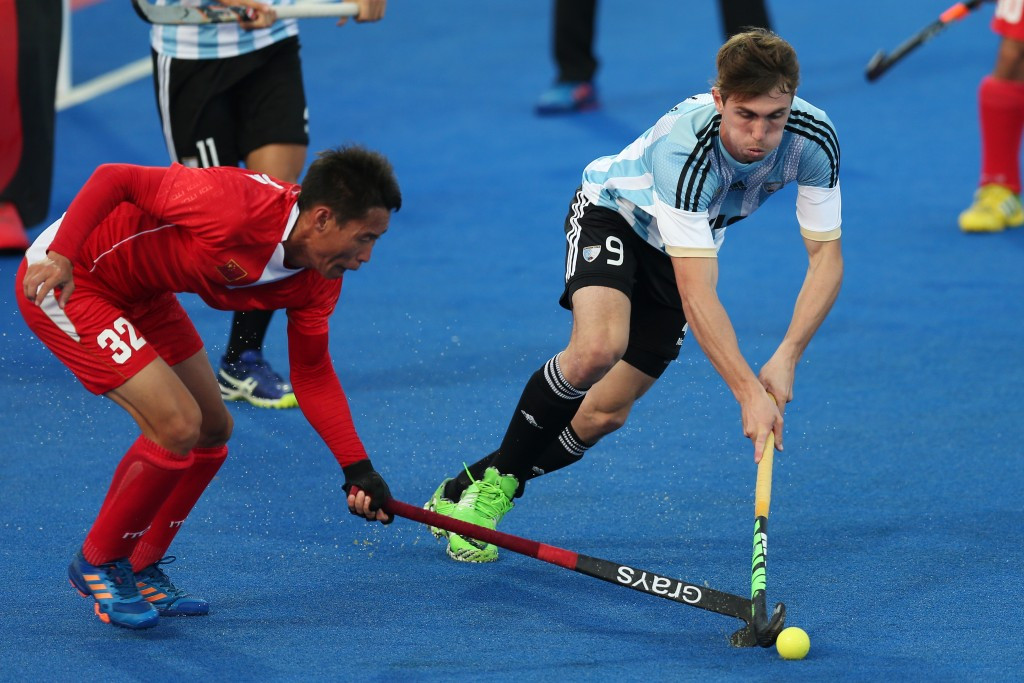 Argentina hit China for ten at Hockey World League semi-final