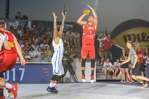 Defending champions Serbia earn quarter-final spot at FIBA 3x3 World Cup