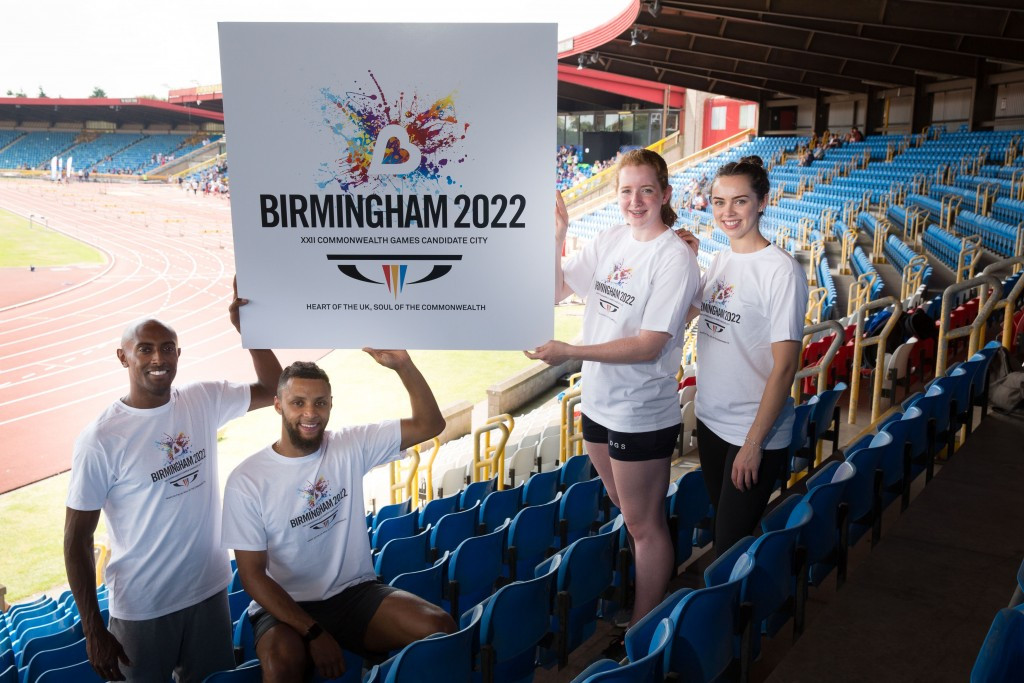 Birmingham officially launched their logo for its 2022 Commonwealth Games bid today ©Birmingham 2022