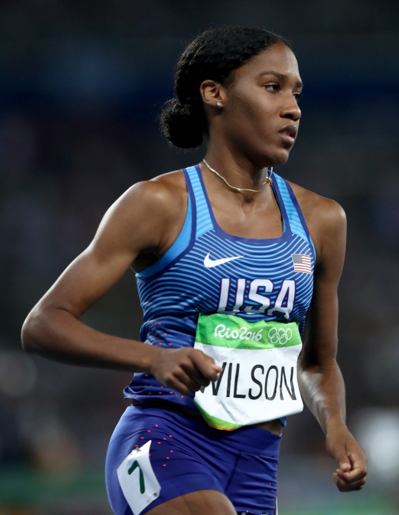 The zeranol in Ajee Wilson's sample appeared to come from meat she had eaten ©Getty Images