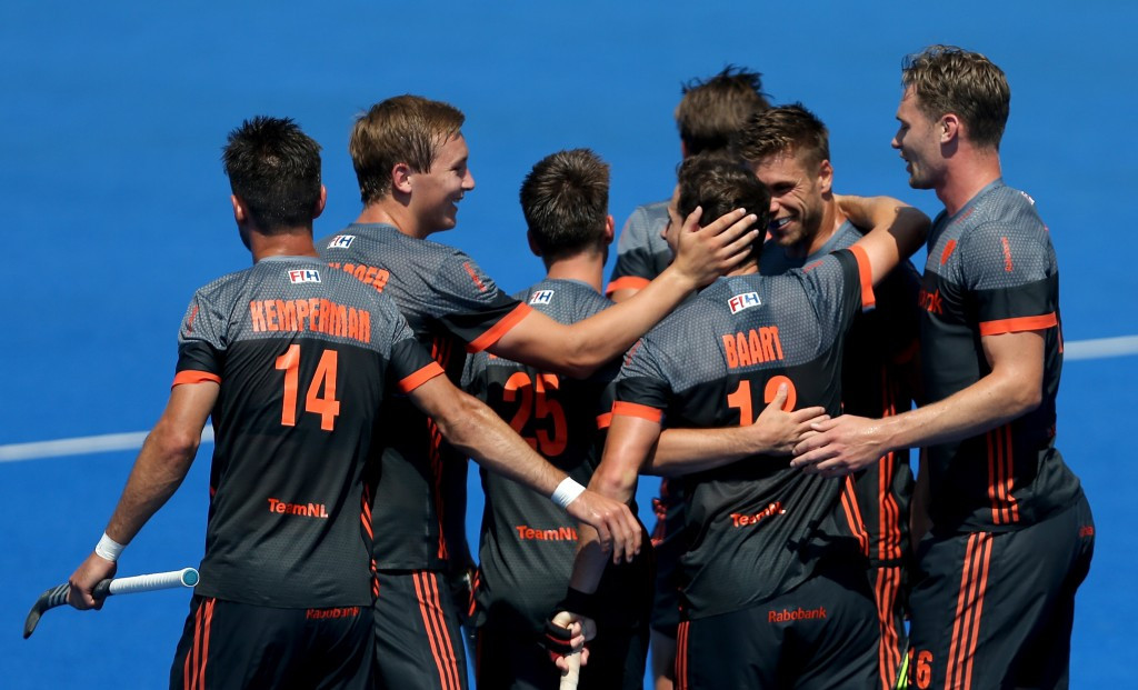 Netherlands win Pool B at Hockey World League semi-final