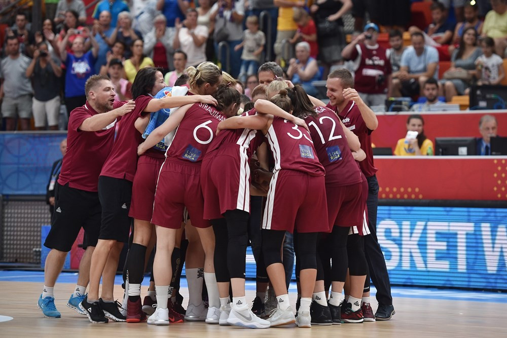Reigning champions knocked out of 2017 FIBA EuroBasket Women