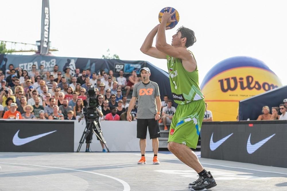 Slovenia advance to quarter-finals at FIBA 3x3 World Cup