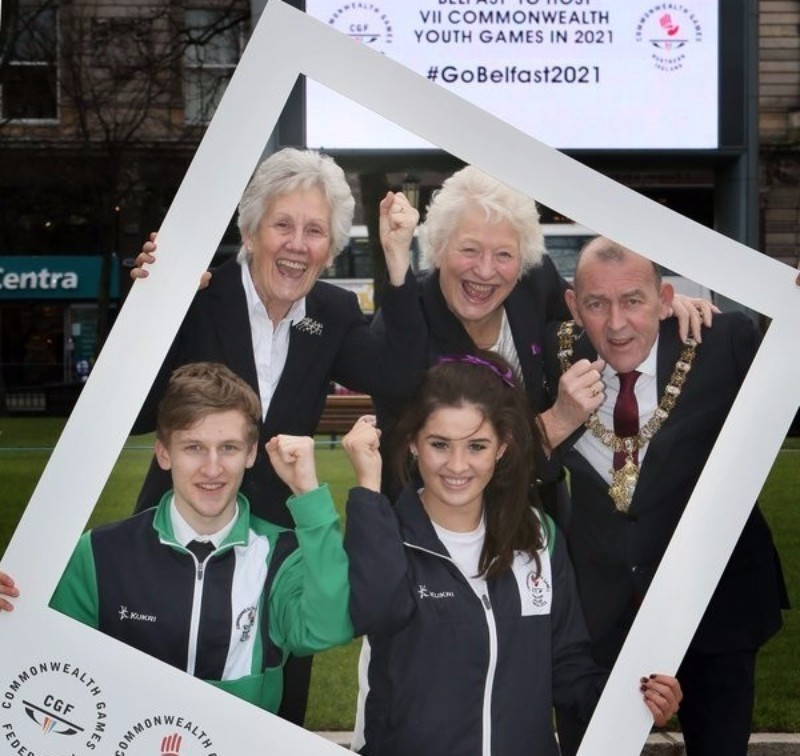 Belfast was awarded the 2021 Commonwealth Youth Games in February last year ©Belfast 2021