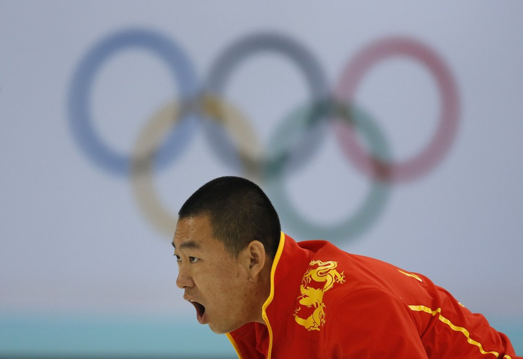 China is aiming to improve in winter sports such as curling before Beijing 2022 ©Getty Images