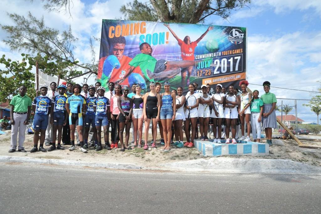 The Bahamas 2017 Commonwealth Youth Games are scheduled to take place next month ©Bahamas2017CYG/Twitter