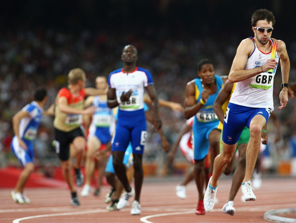Britain's men's 4x400m team will be upgraded to bronze from Beijing 2008 ©Getty Images