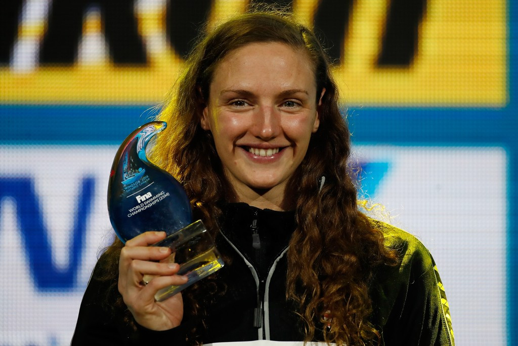 """Triple Rio 2016 Olympic gold medallist Katinka Hosszú has claimed the International Swimming Federation is in """"chaos"""" ©Getty Images"""