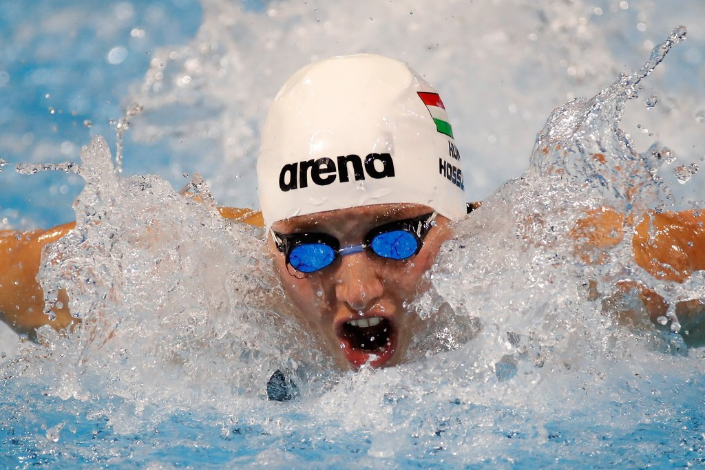 Katinka Hosszú is a three-time Olympic champion and five-time long-course world champion ©Getty Images