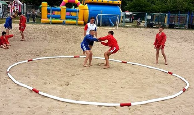 Kharkiv plays host to Ukrainian beach sambo tournament