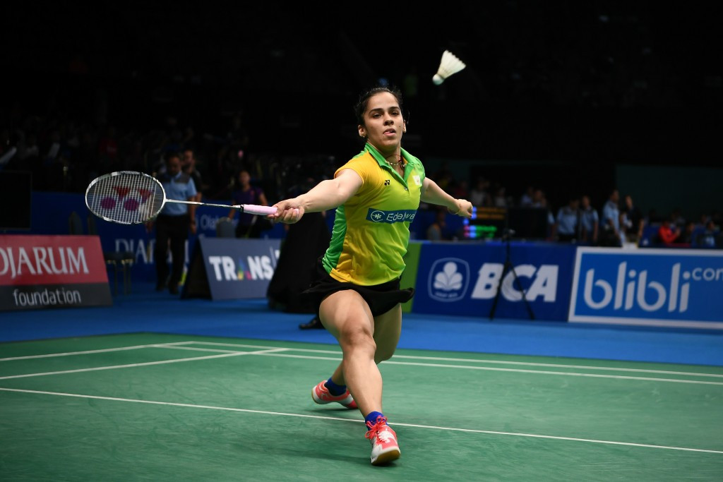 Saina Nehwal secured an impressive first round win ©Getty Images