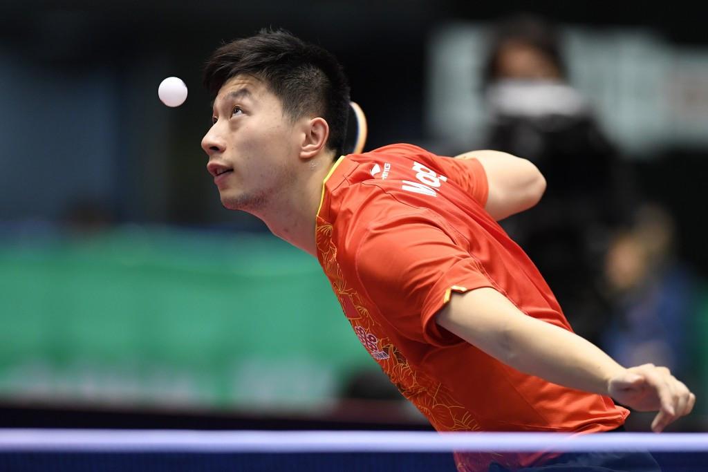 Ma targets seventh ITTF China Open success in Chengdu