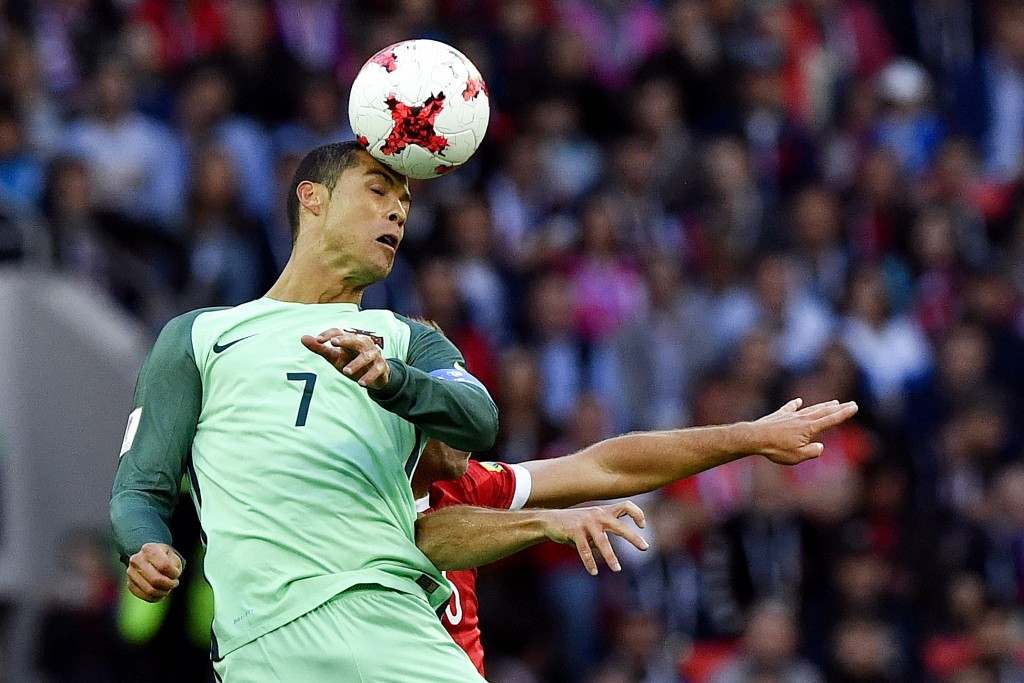Ronaldo header gives Portugal win at Confederations Cup