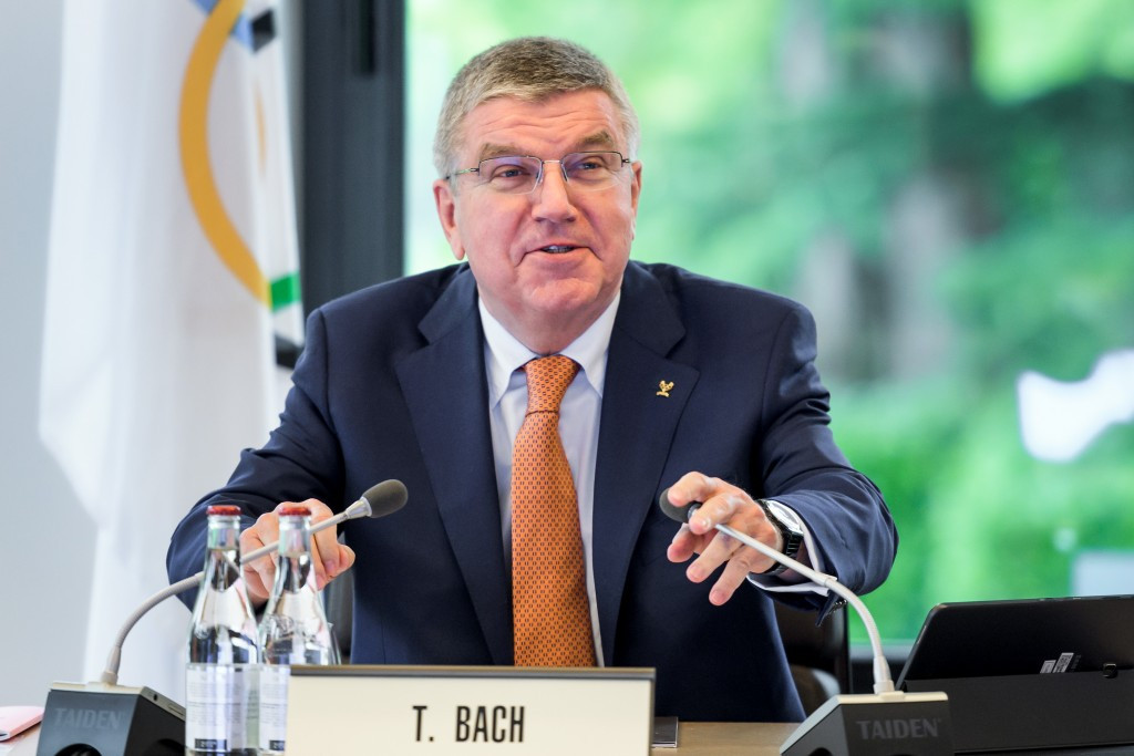 Thomas Bach will likely discuss the Los Angeles 2024 bid with Donald Trump ©Getty Images