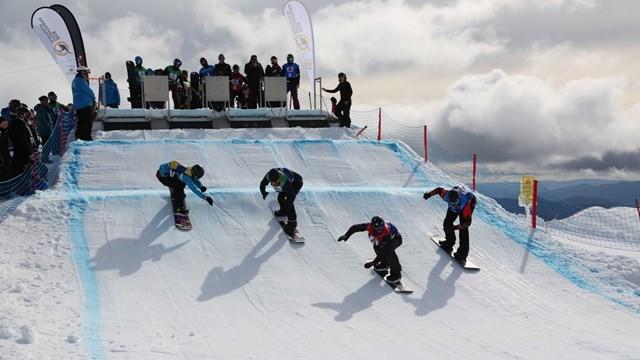 SSA select six for snowboard cross talent scheme