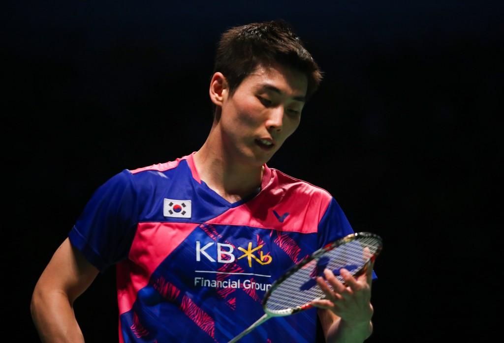 Top seed Son eliminated at BWF Australia Open