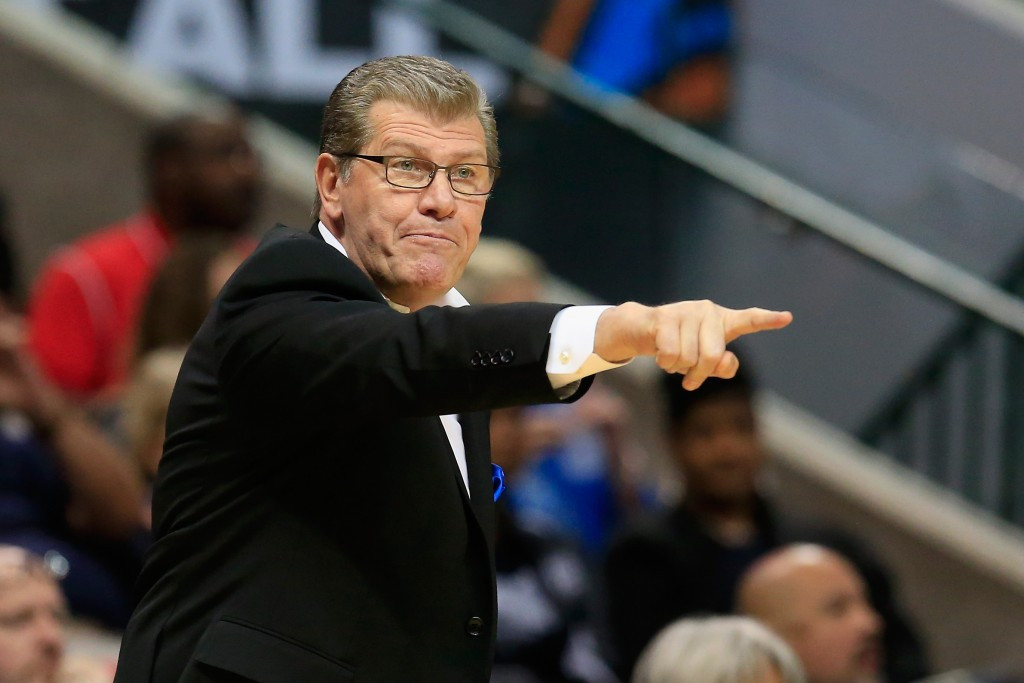 Geno Auriemma was one of two recipients of the USOC national coach of the year award ©Getty Images