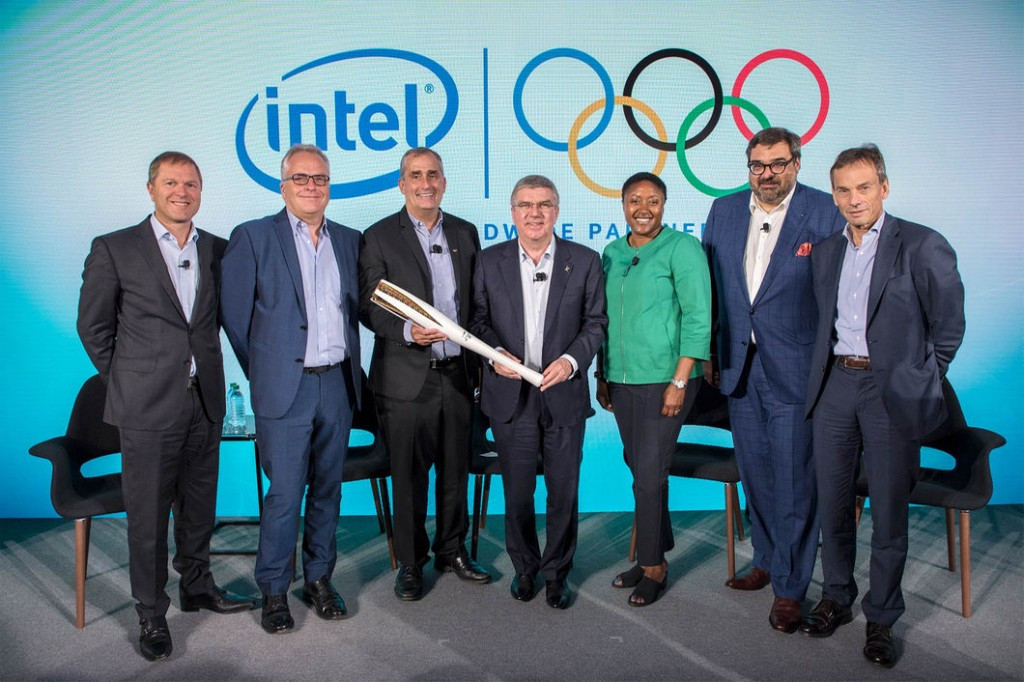 Intel signed on as a TOP sponsor of the International Olympic Committee yesterday ©IOC