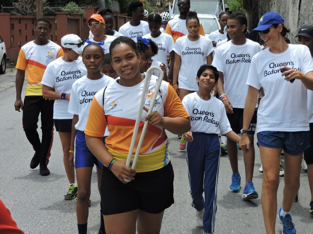 Representatives of various different sports, as well as school students, took part in the QBR ©BOA