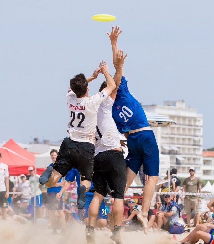 Britain and the United States to clash for men's gold at World Championships of Beach Ultimate