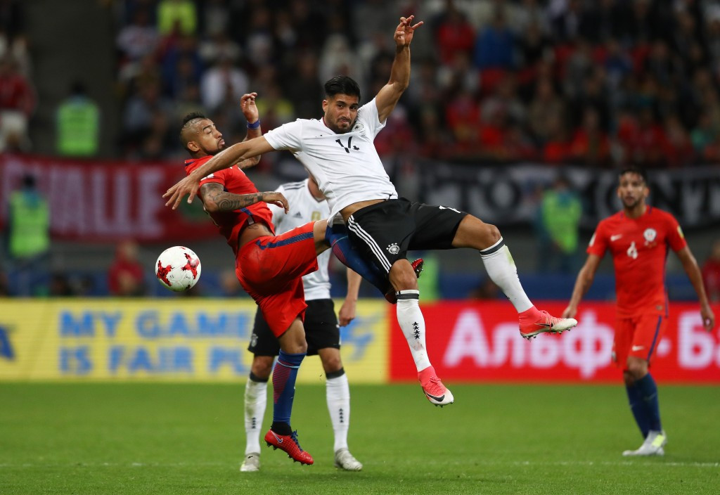 Germany and Chile take step towards semi-finals with draw at Confederations Cup