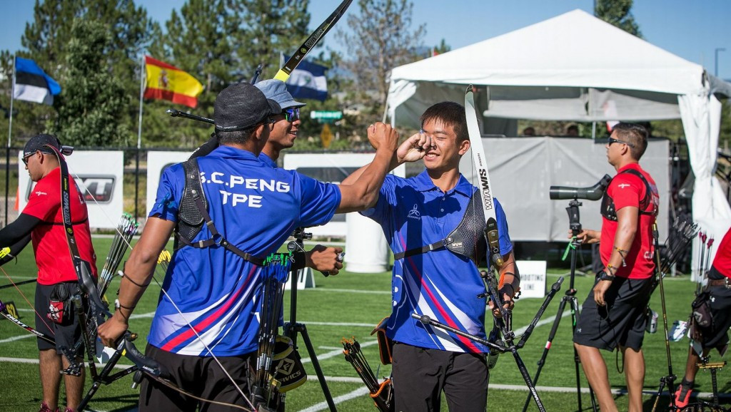 Chinese Taipei reached the final of both the men's and women's team recurve events ©World Archery