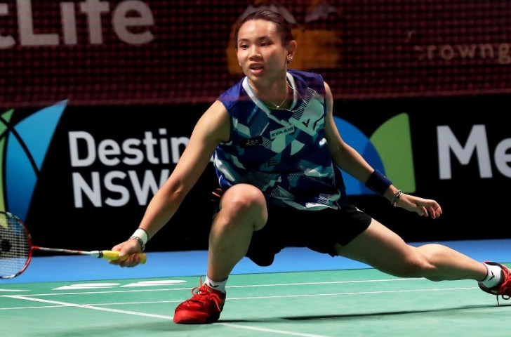 Top seed Tai Tzu-ying of Chinese Taipei had a struggle before reaching tomorrow's women's final at the BWF Singapore Open ©Getty Images