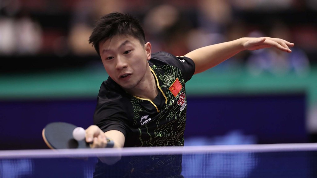 Reigning Olympic champion Ma Long failed to attend his second-round men's singles match at the ITTF China Open © Hideyuki Imai/ITTF